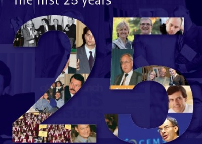 CEMS 25th anniversary commemorative booklet