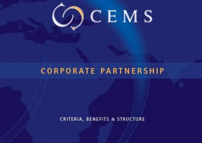 CEMS corporate relations brochure
