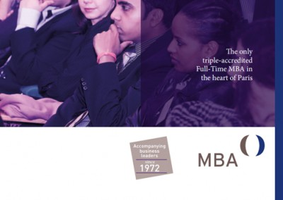 NEOMA Business School full-time MBA brochure