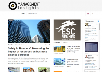ESC Rennes Management Insights