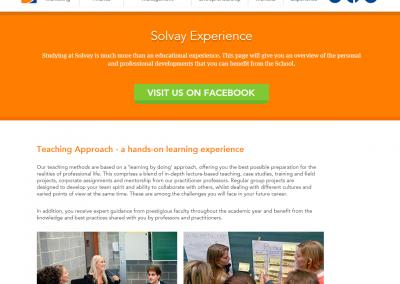 """Solvay Experience"" presentation"